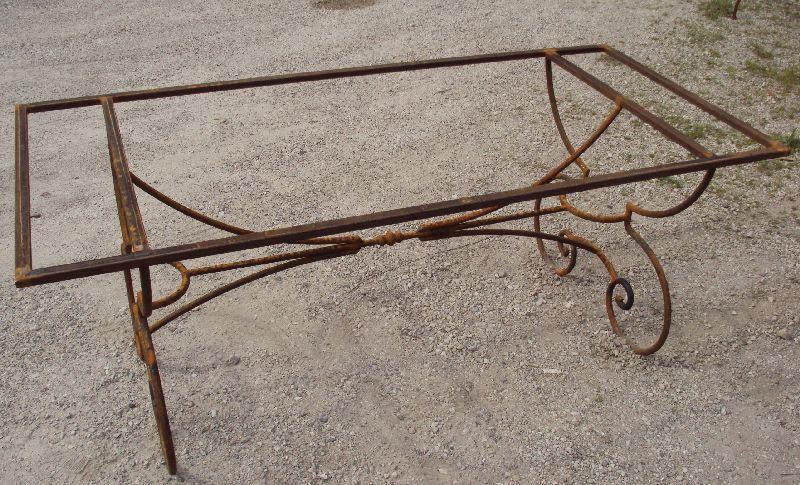Gambe in ferro per tavolo cheap tavolo da pranzo in - Gambe in ferro per tavoli ...